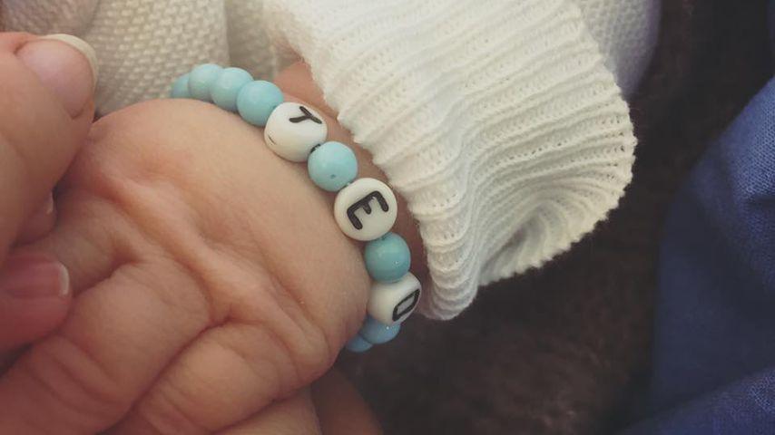 Arm von Lisa Wohlgemuths zweitem Sohn Ted