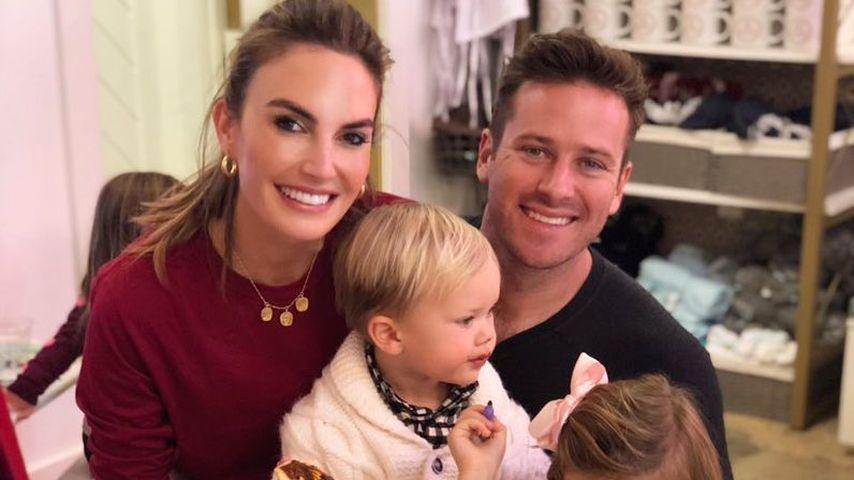 Armie Hammer mit seiner Familie