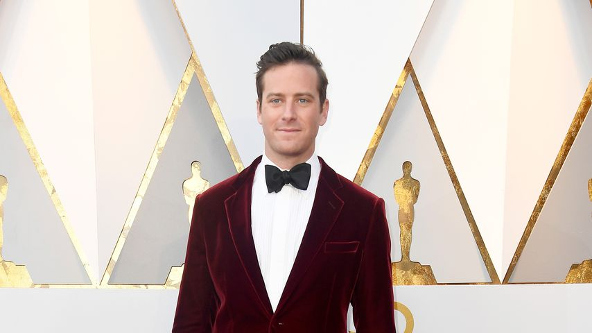 Armie Hammer in Hollywood, 2018