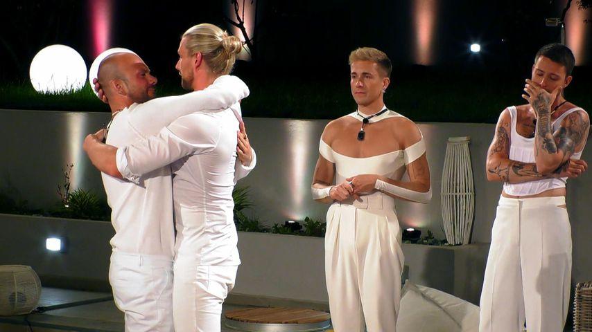 "Arne, Kim, Robin und Thomas bei ""Prince Charming"""