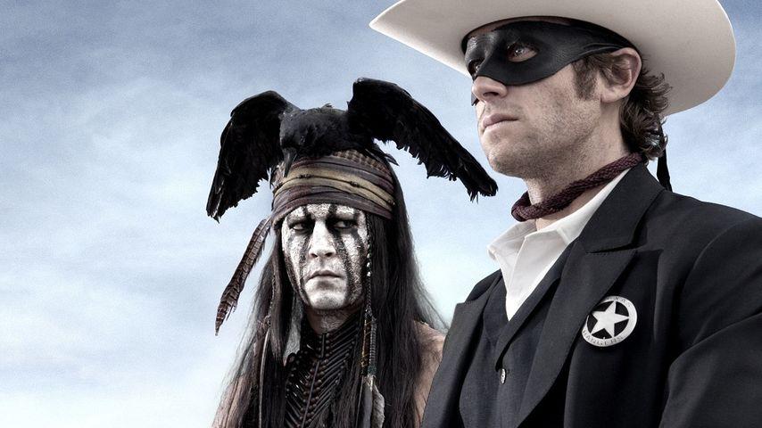 Johnny Depp und Armie Hammer