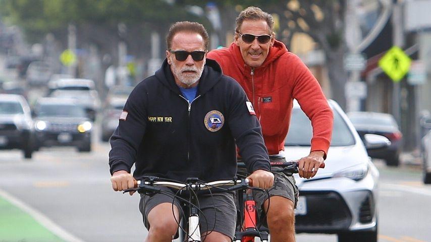 Arnold Schwarzenegger und Ralf Moeller in Santa Monica im Juni 2020