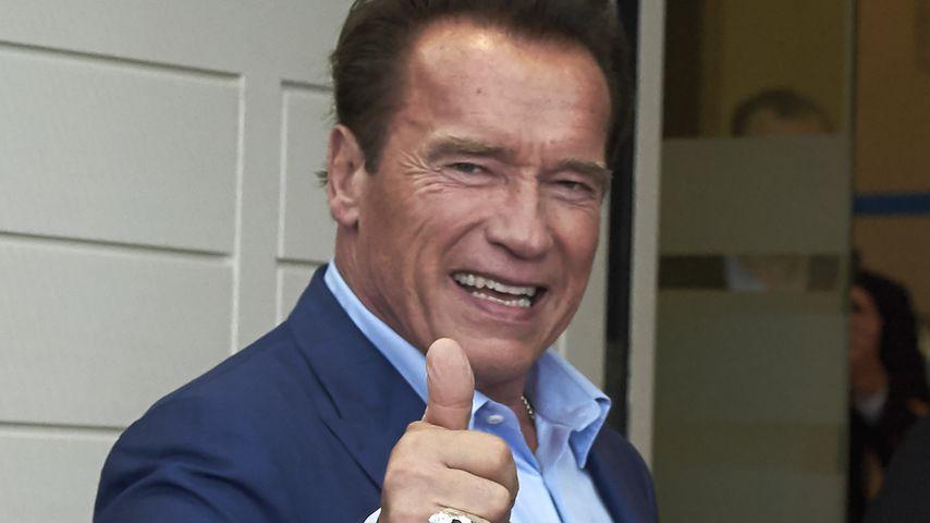 Kurz nach Herz-OP: Arnold Schwarzenegger auf Bike unterwegs