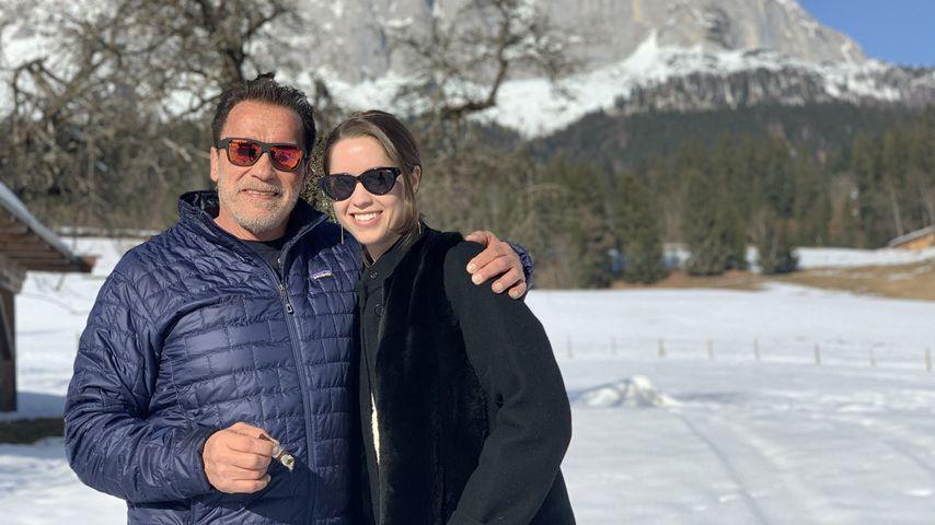 Arnold und Christina Schwarzenegger