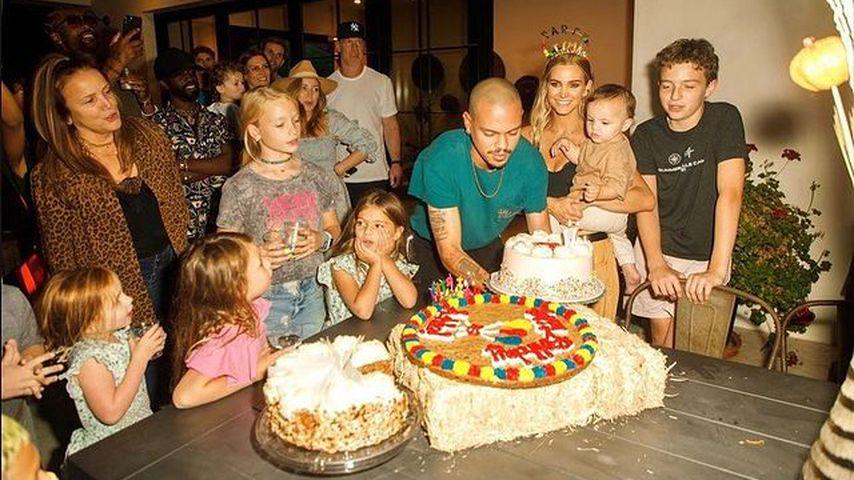 Ashlee Simpson und ihre Familie im Oktober 2021