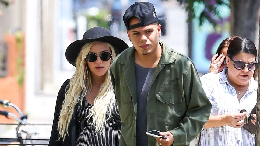 Coole Baby-Party! Ashlee Simpson & Evan Ross feiern getrennt