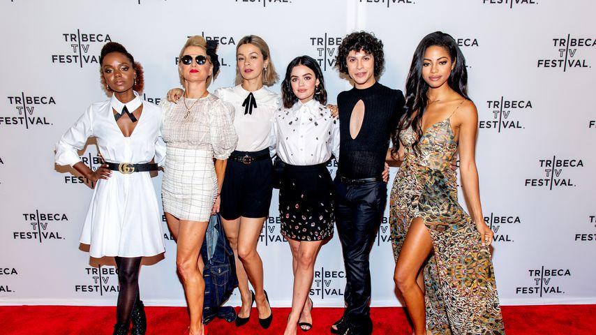 Ashleigh Murray, Katherine LaNasa, Julia Chan, Lucy Hale, Jonny Beauchamp und Camille Hyde, 2019