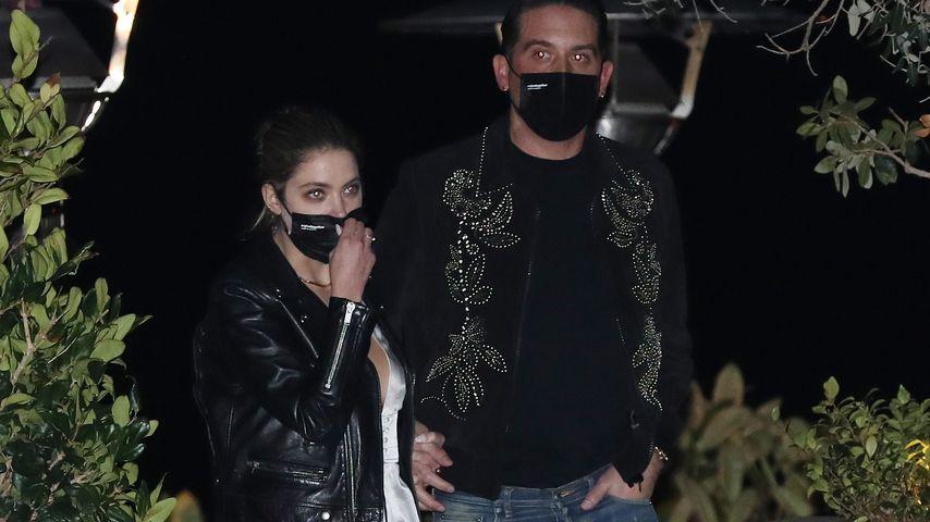 Ashley Benson und G-Eazy im Februar 2021