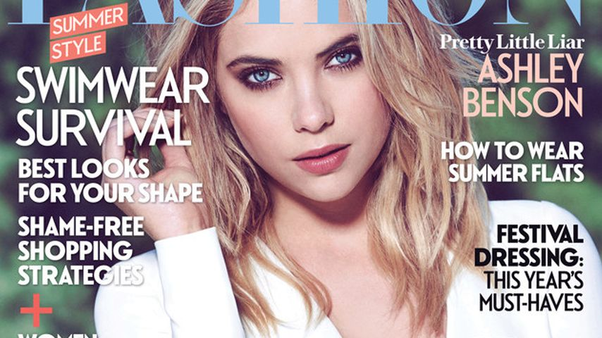 Ashley Benson: Sexy Busen-Show für Magazin-Cover
