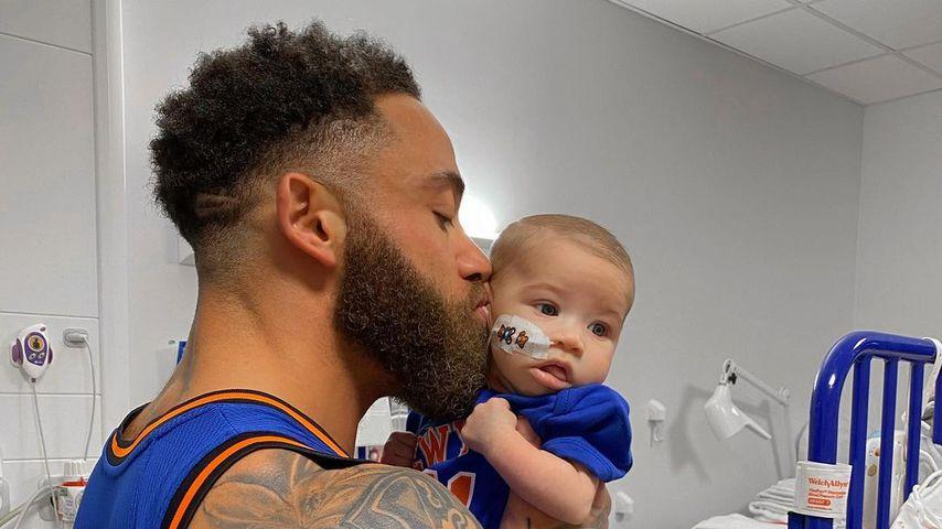 Ashley Cain und seine Tochter Azaylia im Oktober 2020