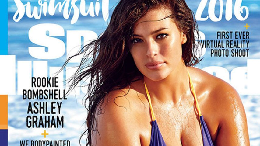 "Ashley Graham auf dem Cover der ""Sports Ilustrated"""
