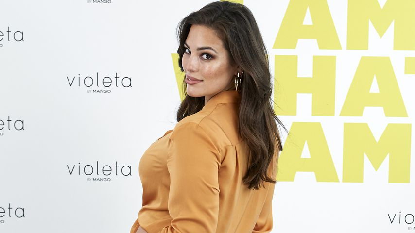Ashley Graham auf einem Fashion-Event in Madrid