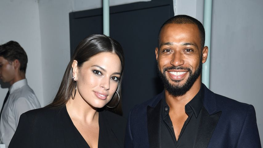 Ashley Graham und Justin Ervin im September 2017