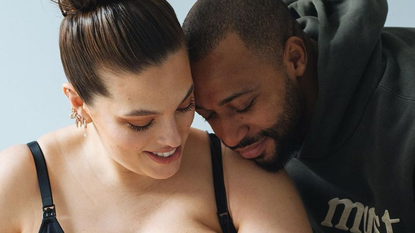 Ashley Graham und Ehemann Justin Ervin mit Söhnchen Isaac Menelik Giovanni
