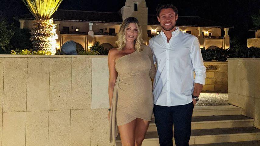 Ashley James mit Freund Tom Andrews