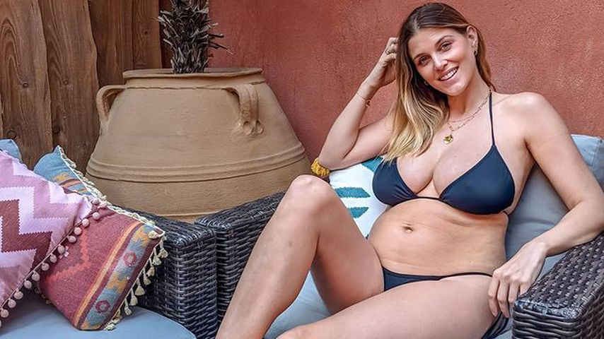 Neu-Mama Ashley James ist stolz auf ihren After-Baby-Body