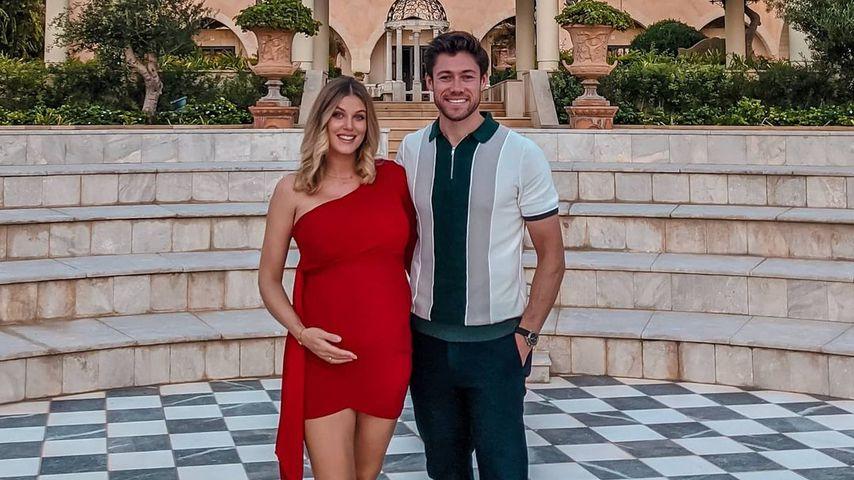 Ashley James und ihr Partner Tom Andrews