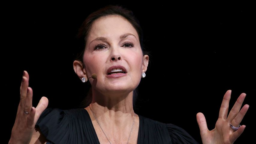 Ashley Judd bei einem Congress in Kalifornien