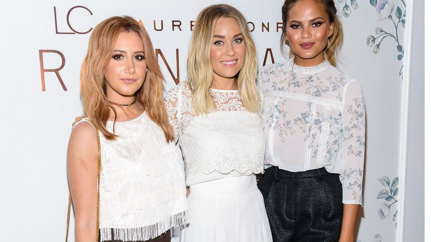 Chrissy Teigen, Ashley Tisdale und Lauren Conrad
