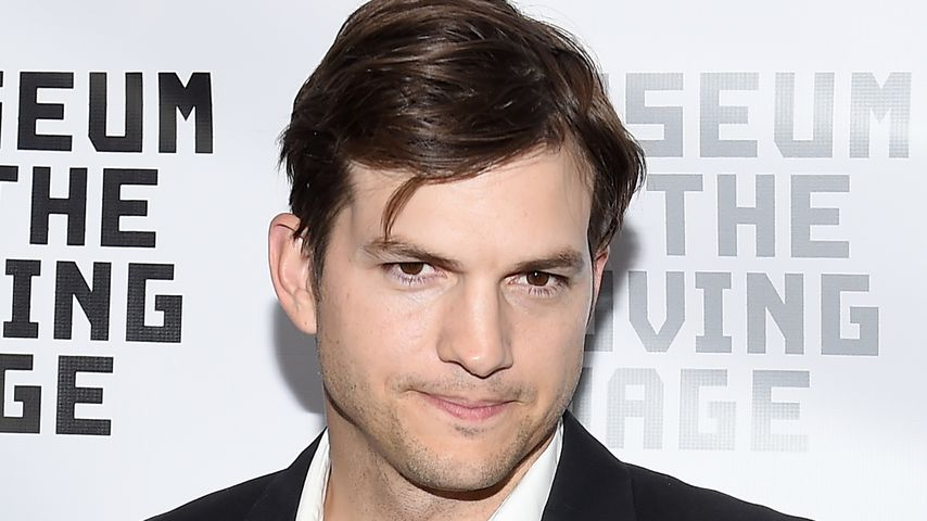 Ashton Kutcher im Museum of the Moving Image