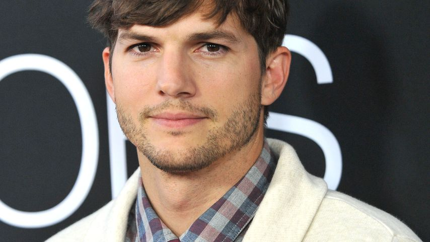 Ashton Kutcher hält sich für einen Baby-Flüsterer!