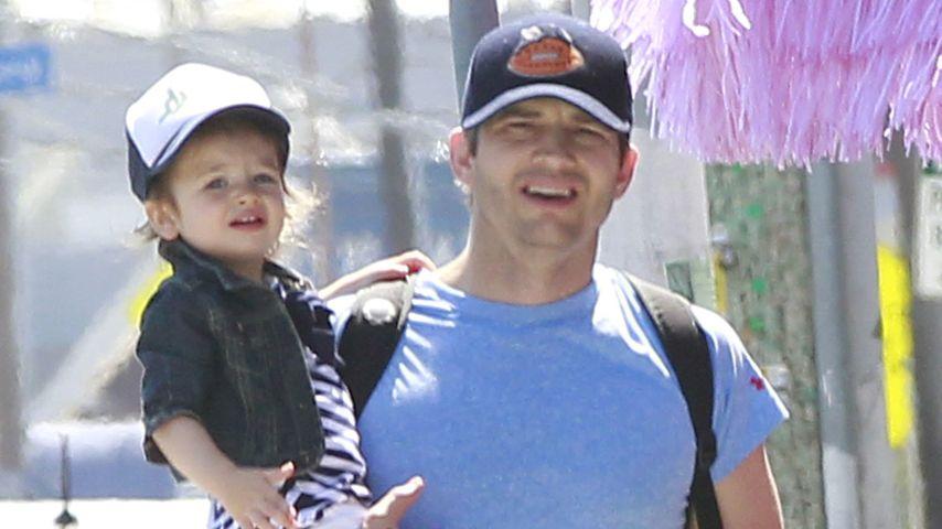 Ashton Kutcher und Tochter Wyatt in L.A.