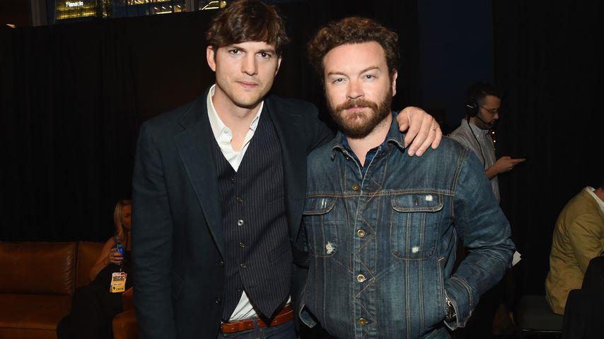 Ashton Kutcher und Danny Masterson im Jahr 2017
