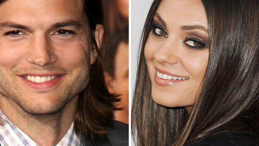 Mila Kunis & Ashton: Einfach nur heiße Affäre?