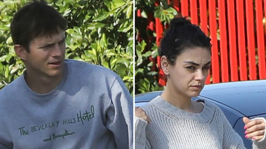 Erwischt! So casual sind Mila Kunis & Ashton Kutcher privat