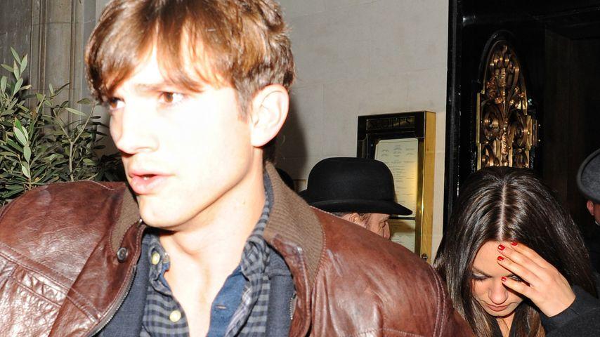 Ashton Kutcher: Handgemenge mit Wachmann!