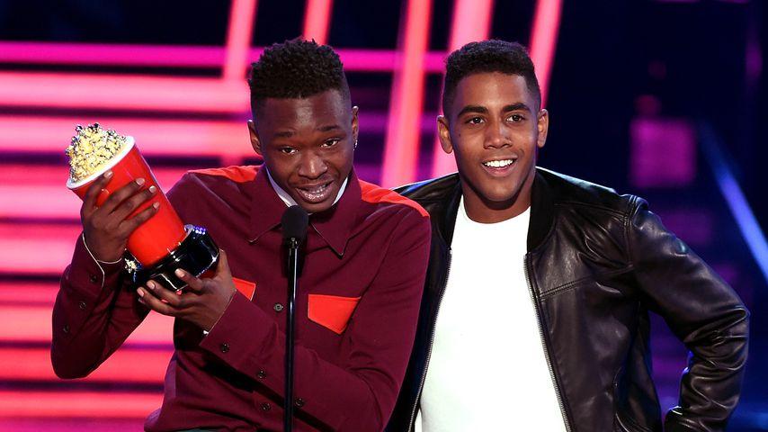 MTV Movie Awards: Bester Kuss für schwarzes, schwules Paar!