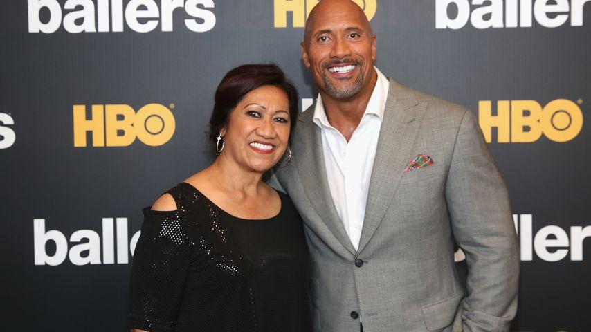 Dwayne Johnson mit seiner Mutter Ata