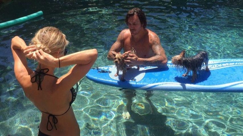 Pool-Sause mit Ex-Ex? Audrina Patridge zeigt ihren Bikini-Po