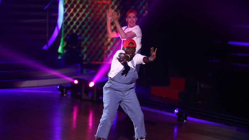 "Auma Obama und Andrzej Cibis bei ""Let's Dance"""
