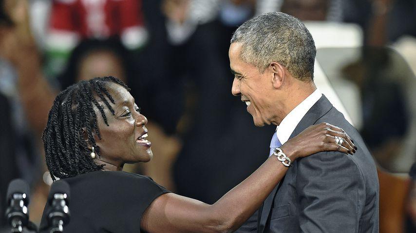 """Auma Obama: Weiß Halbbruder Barack Obama von """"Let's Dance""""?"""