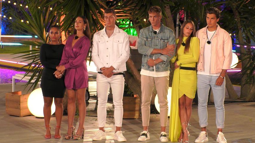 "Aurelia, Geraldine, Giulio, Max, Melina und Tim bei ""Love Island"""