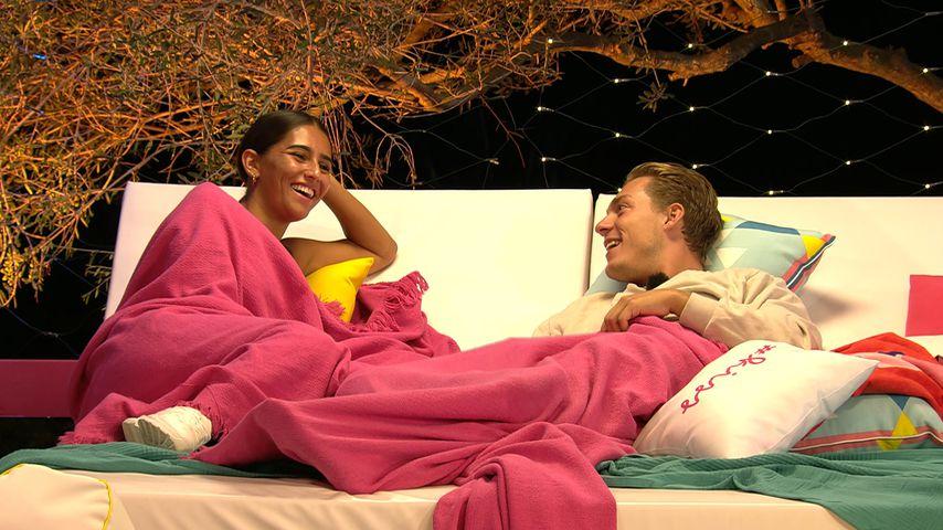 """Aurelia Lamprecht und Henrik Stoltenberg bei """"Love Island"""" 2020"""