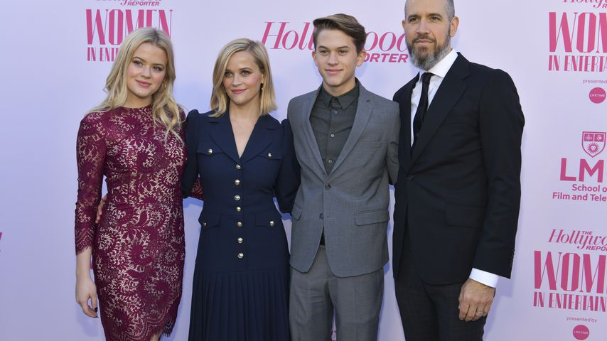 Ava Elizabeth Phillippe, Reese Witherspoon, Deacon Phillippe und Jim Toth