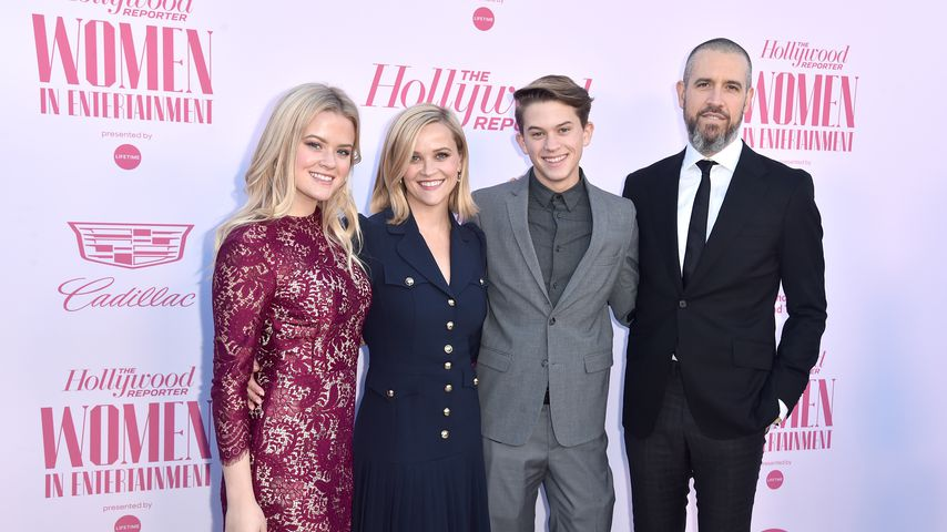 Ava Phillippe, Reese Witherspoon, Deacon Phillippe und Jim Toth