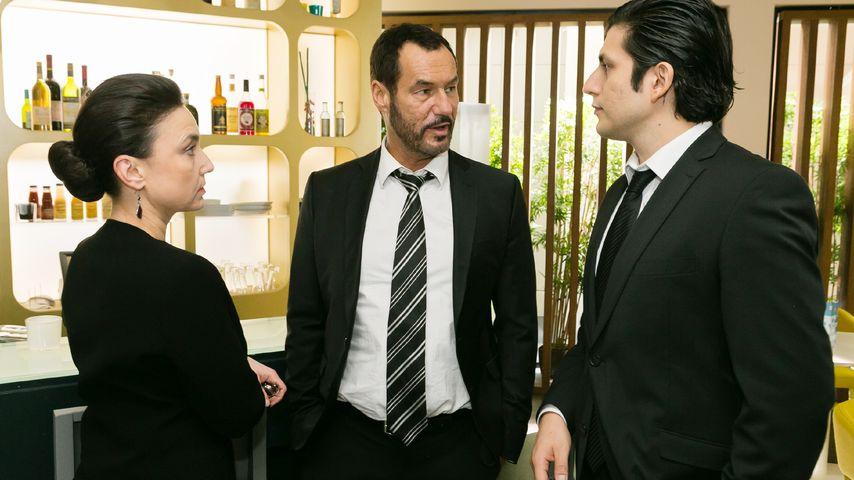 Francisco Medina, Tatjana Clasing und Silvan-Pierre Leirich