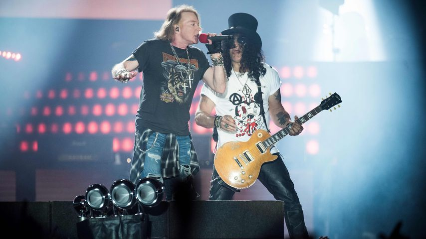 Axl Rose und Slash