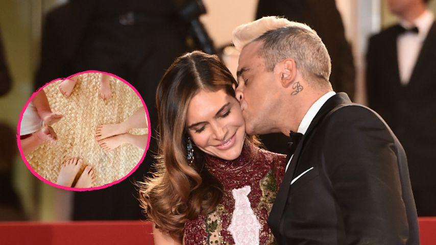 Ein Söhnchen: Robbie Williams ist wieder Papa geworden!