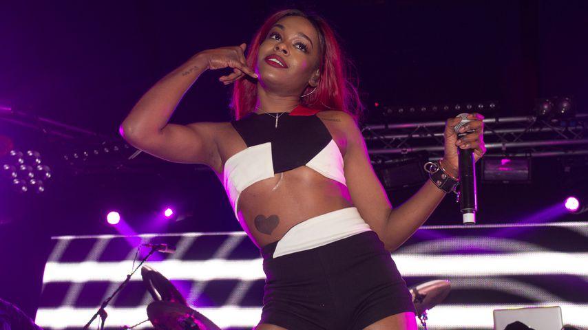 Rapperin Azealia Banks auf dem englischen Leeds-Festival 2015