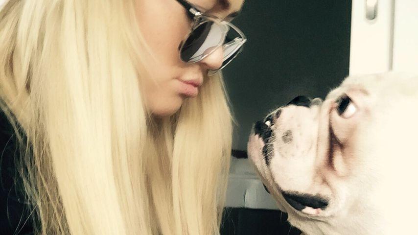 Jessica Paszka braucht keinen Mann: Sie hat einen Hund!