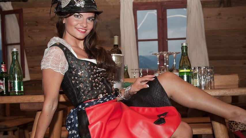 Bachelor-Katja im Almrausch: Lederhosen sind sexy!