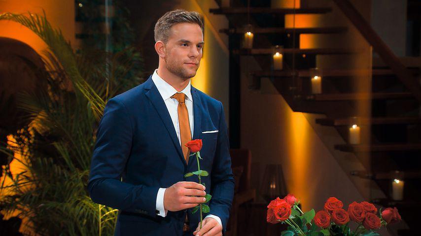 Bachelor Sebastian Preuss in der ersten Nacht der Rosen