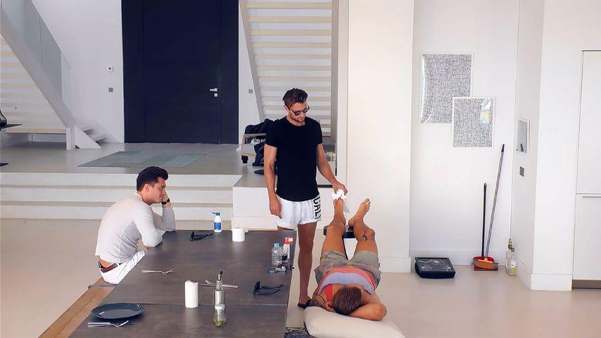Bachelorette-Kandidaten Andre, Michi und Alex