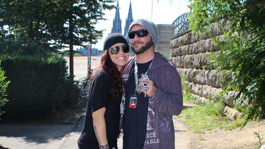 Bam Margera und seine Frau Nicole