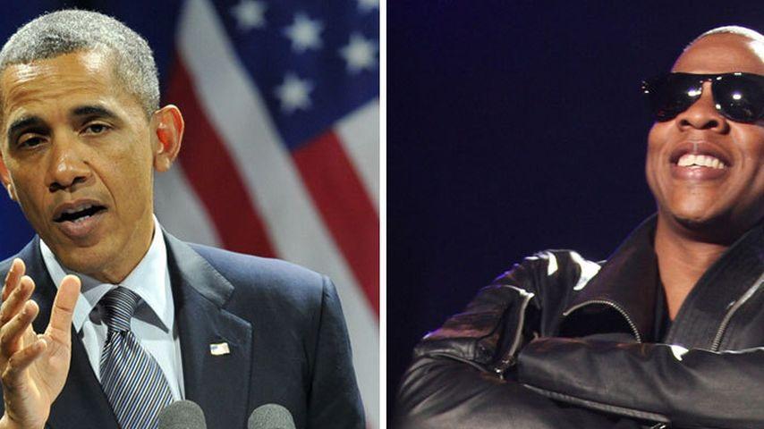 Lustig! Das haben Barack Obama & Jay-Z gemeinsam