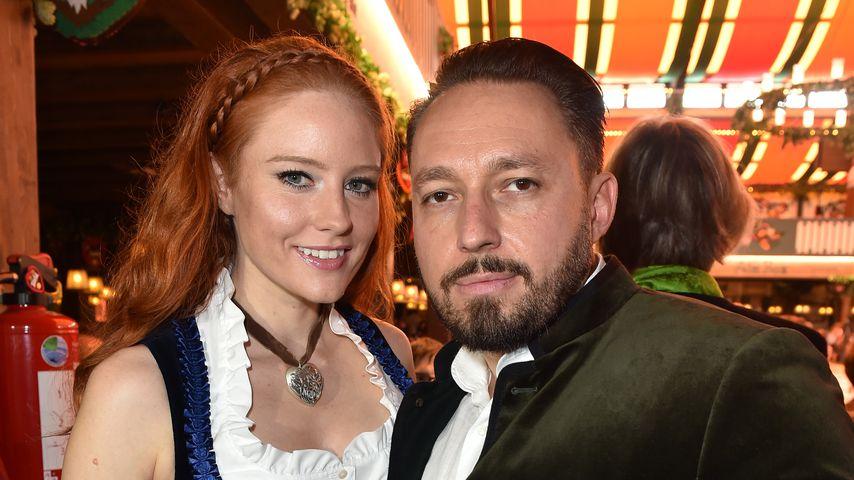 Barbara Meier und Klemens Hallmann 2017 auf dem Oktoberfest